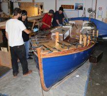 Ma Cherie, Ebihen 16 built by Wind and oar boat school, Portlan, Oregon