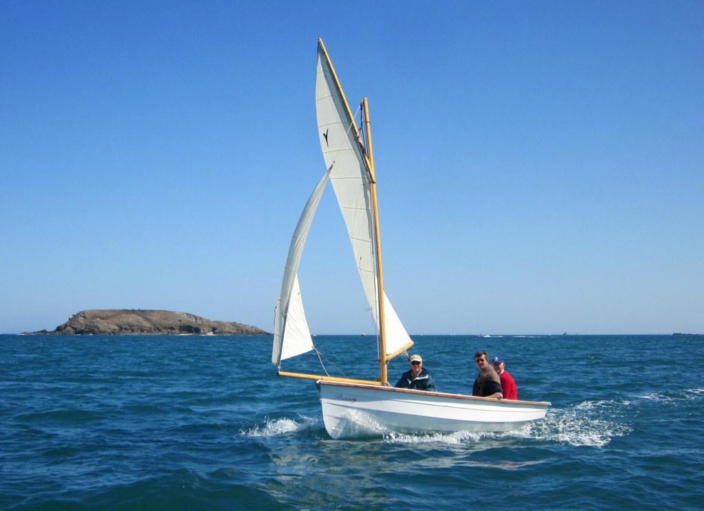 Bounty, 16′ sailboat | François Vivier, naval architect
