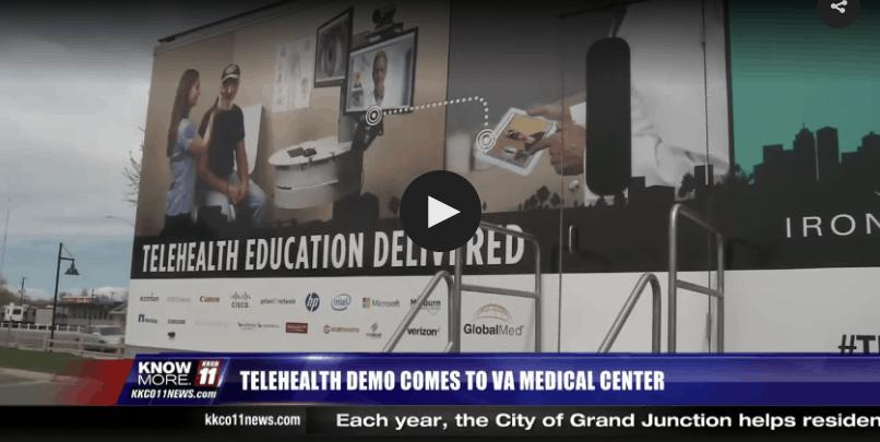 TED Truck (Telehealth Demonstration Truck)- April 3, 2017- Grand Junction, CO (KKCO- NBC11)