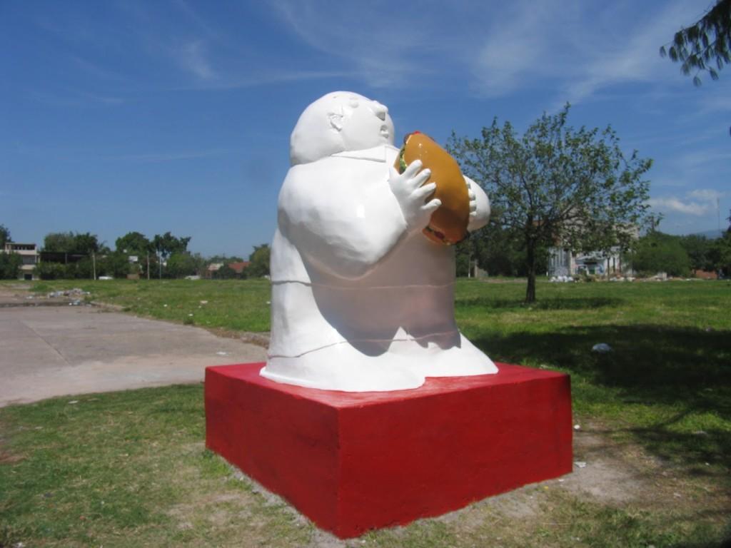 statua alla milanesa