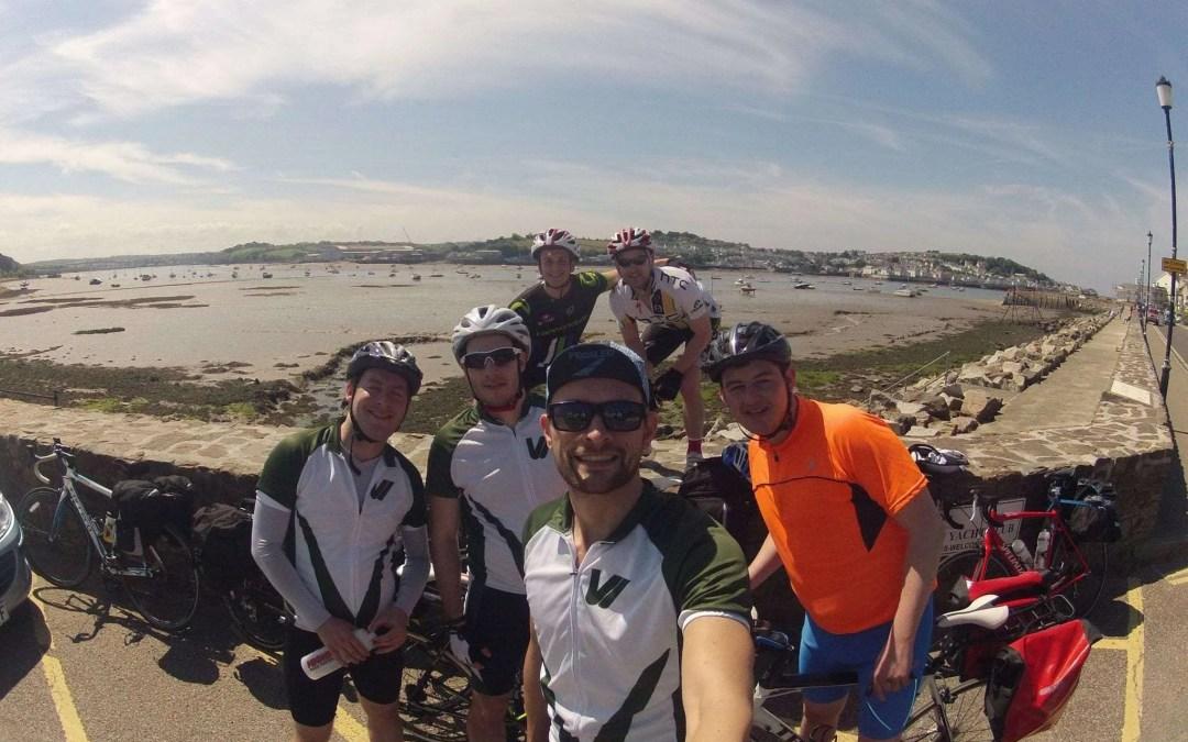 Vivi Nation ride the Devon Coast to Coast cycle route