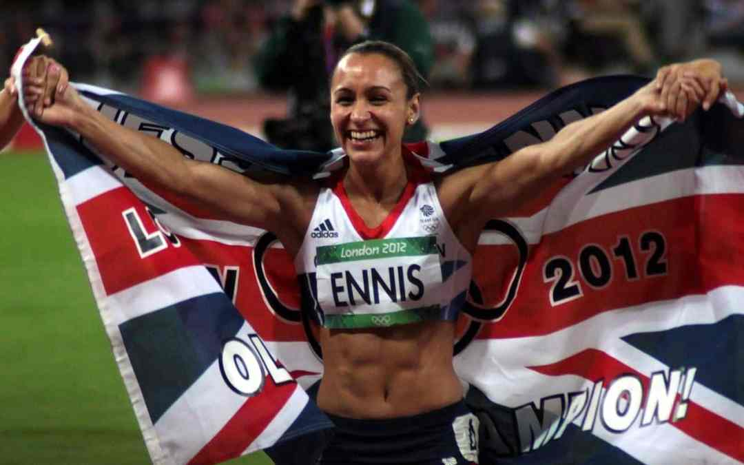 The inspirational Jessica Ennis-Hill
