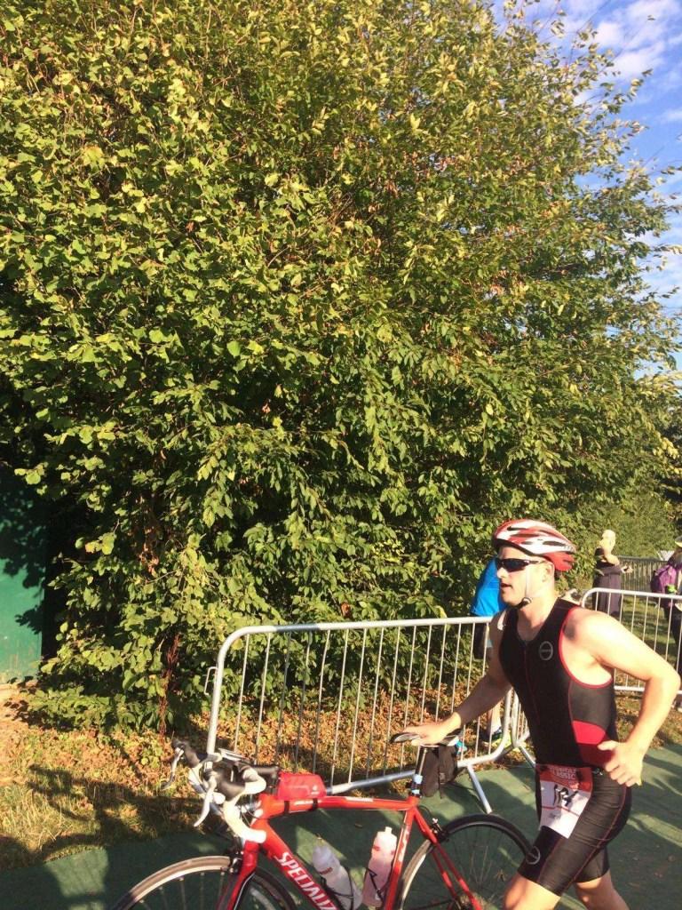 half-ironman training cycle