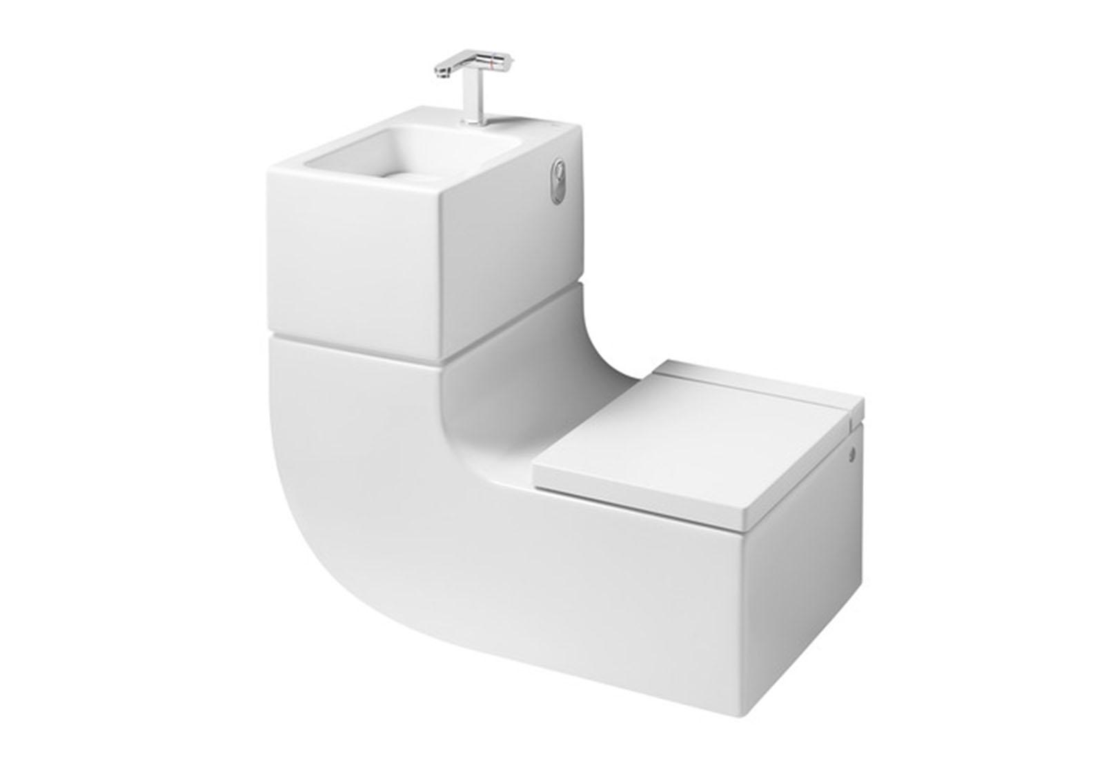 amenagement salle de bain petit espace  Viving