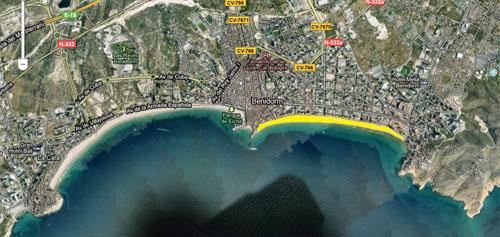 Playa Levante Benidorm