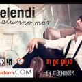 Concierto de Melendi en Benidorm Playa Vacaciones Ocio