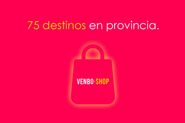 Operamos en 75 destinos en provincia