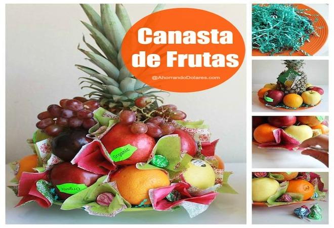 Cmo hacer una canasta de frutas DIY  Vivir Latina