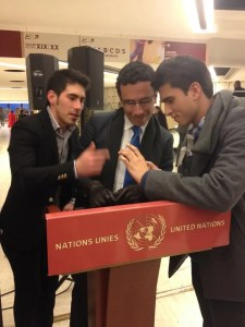 Colombianos en la UN