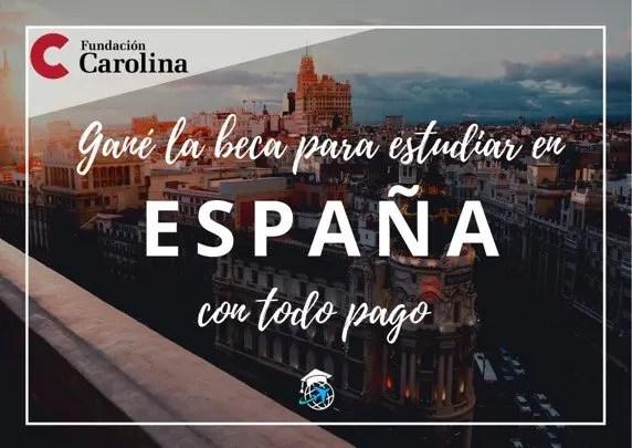 becas en espana