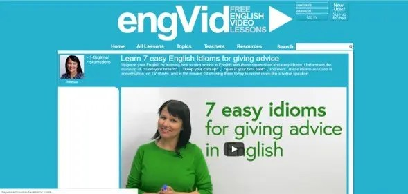 engVid: Free Engligh Video Lessons