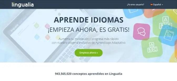 Lingualia: Aprende idiomas ¡Empieza ahora, es gratis!