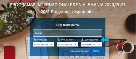 programas internacionales en alemania