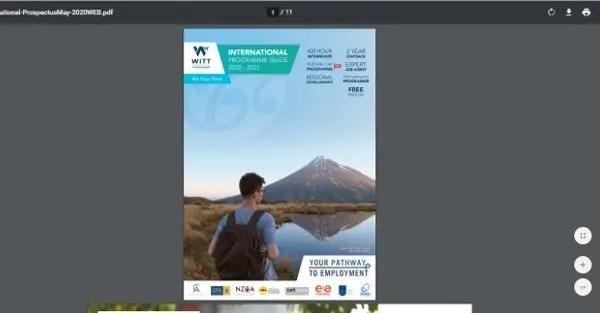 informacion de las becas para estudiar en nueva zelanda