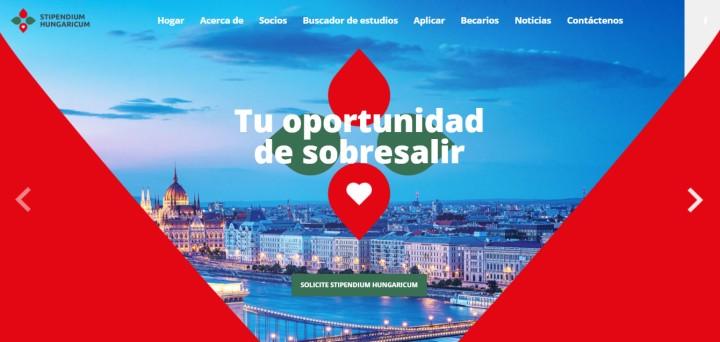 tutorial para encontrar beca en Hungría