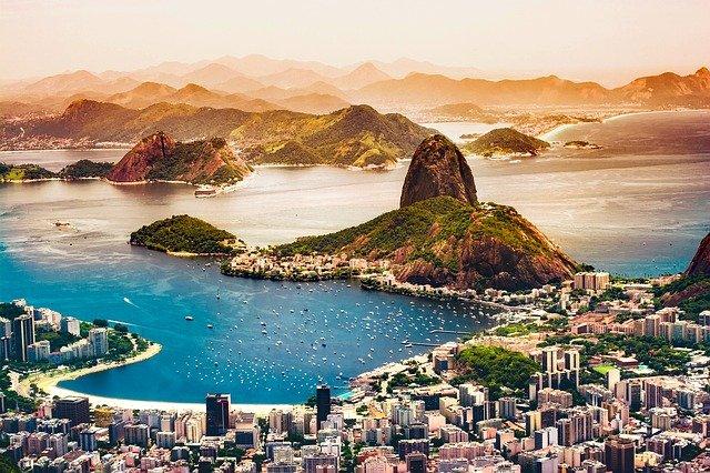 Ciudad de Río de Janeiro en Brasil.
