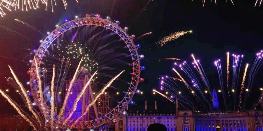 [英國旅遊]倫敦眼跨年煙火購票攻略|泰晤士河畔超夯景點地標~2020年倫敦眼摩天輪跨年煙火秀(含影片) @VIVIYU小世界
