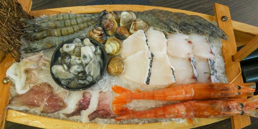 [八德美食]紅宴精緻鍋物|廣豐新天地附近海鮮火鍋‧痛風海鮮鍋‧寵物友善餐廳 @VIVIYU小世界