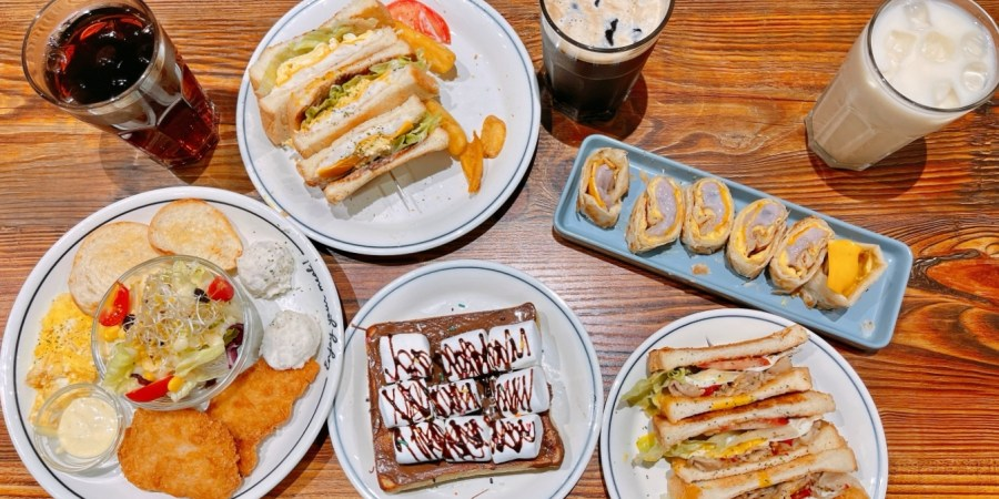 [桃園美食]丄青初食早午餐|寶山商圈新開風格早餐店~芋見肉鬆滿滿鬆軟綿滑芋泥 @VIVIYU小世界
