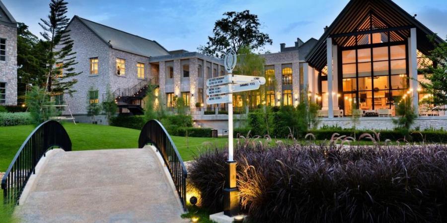 Khao Yai,Thames Valley Resort,拷艾,拷艾住宿,拷艾飯店,歐式飯店,泰國,泰晤士谷飯店 @VIVIYU小世界