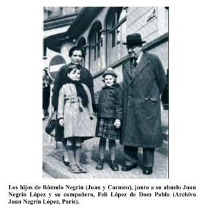 Feliciana López y Juan Negrín López