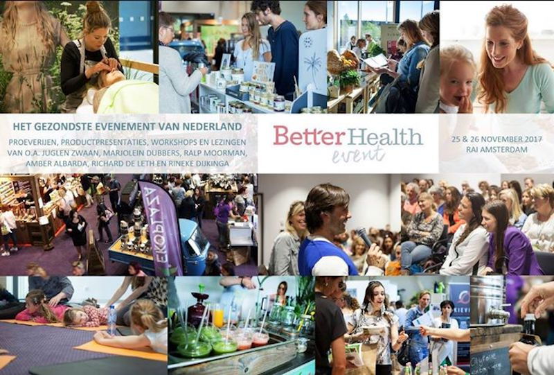 Kom jij ook (met KORTING) naar het Better Health Event?