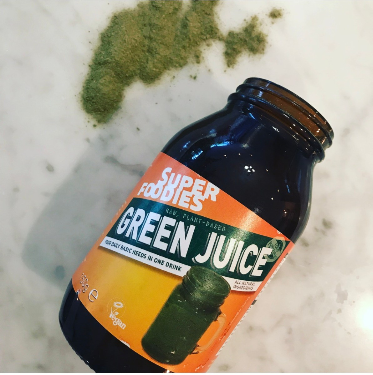 Viv's product van de week: Green Juice