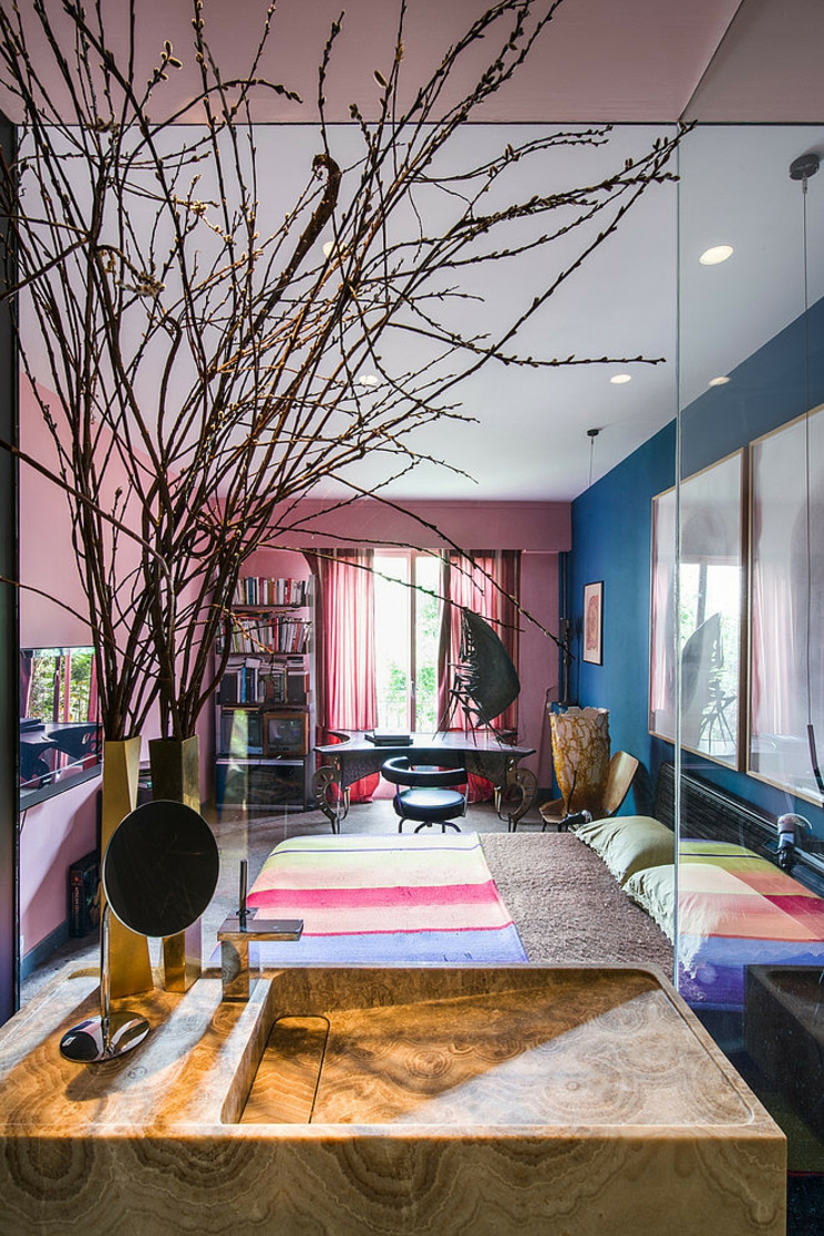 Appartement de luxe au design clectique  Paris  Vivons maison