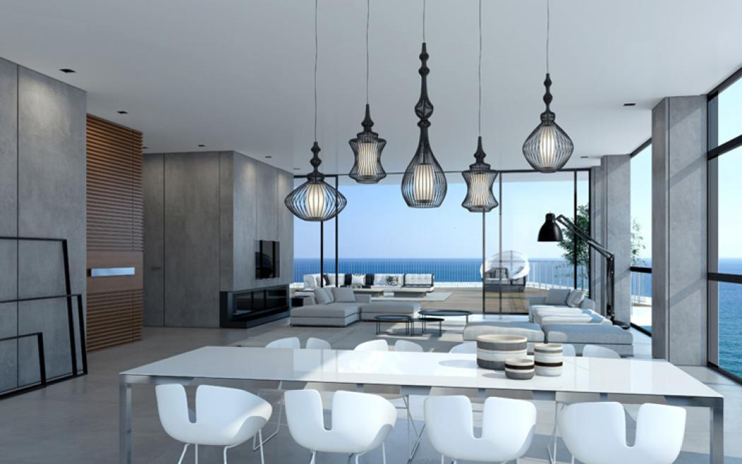 appartement de luxe en construction sur la cote israelienne