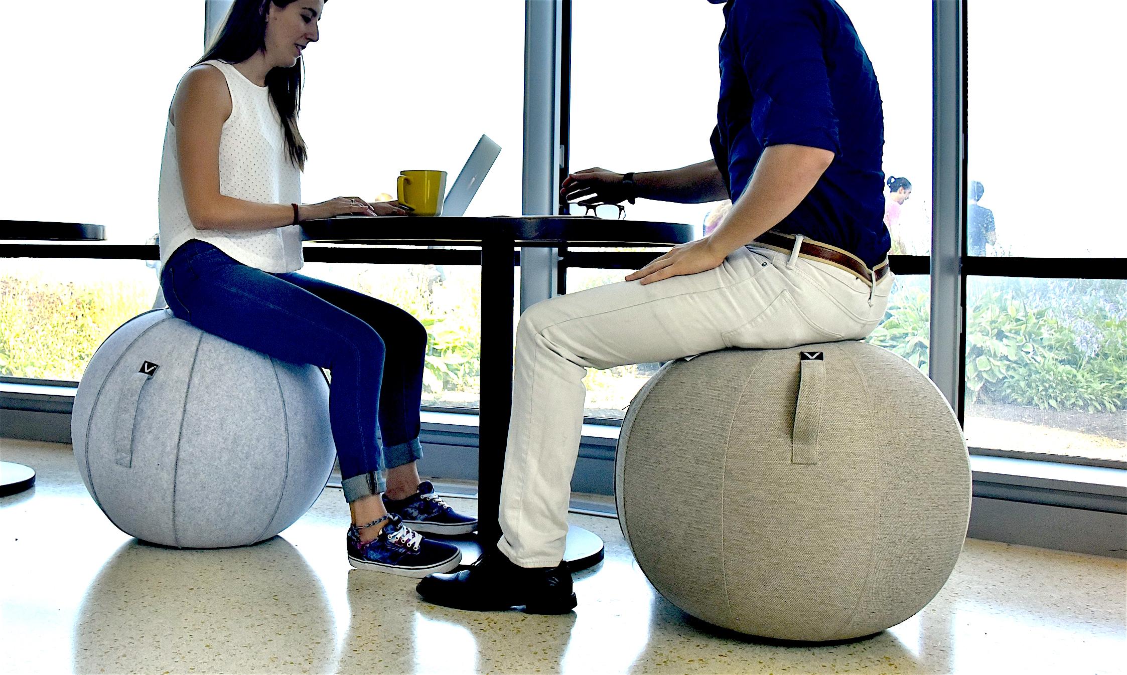 Luno Standard  Classic Series  Felt Sitting Ball Chair