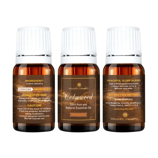 Cedarwood Essential Oils - Vivorific Health LLC-