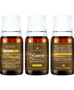 Lemon Essential Oil - Vivorific Health LLC-