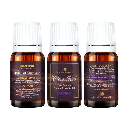 Clove Bud Essential Oil - Vivorific Health LLC-