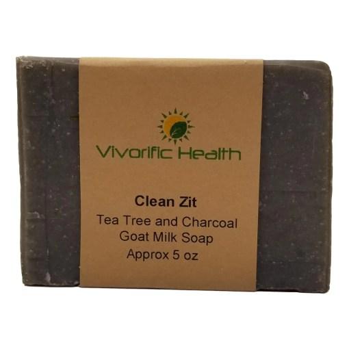 Clean Zit Handmade Goat Milk Soap -Vivorific Health