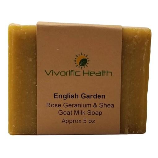 English Garden Goat Milk Soap - Vivorific Health