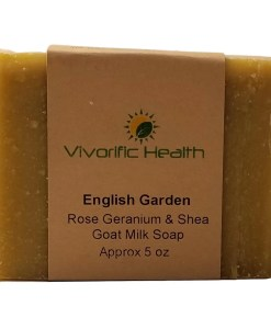 English Garden Goat Milk Soap - Vivorific Health