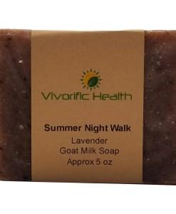 Summer Night Walk Goat Milk Soap - Vivorific Health