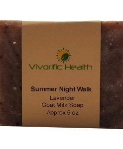 Summer Night Walk Goat Milk Soap - Vivorific Health