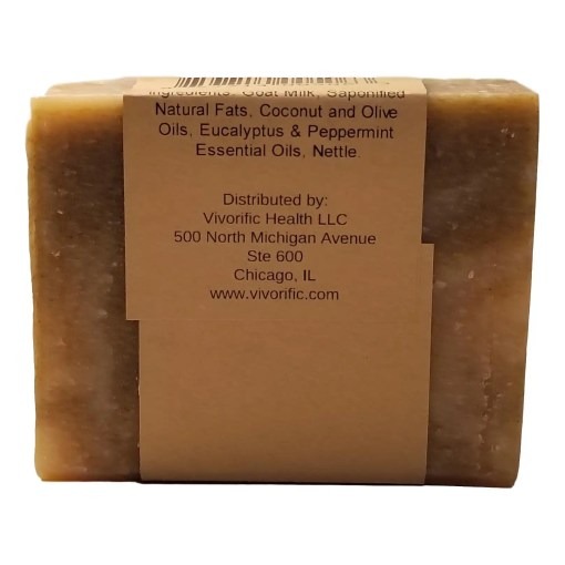 Winter Breath Goat Milk Soap -Vivorific Health