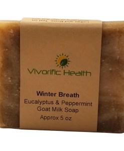Winter Breath Goat Milk Body Soap - Vivorific Health