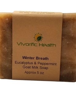 Winter Breath Goat Milk Body Soap - Vivorific Health