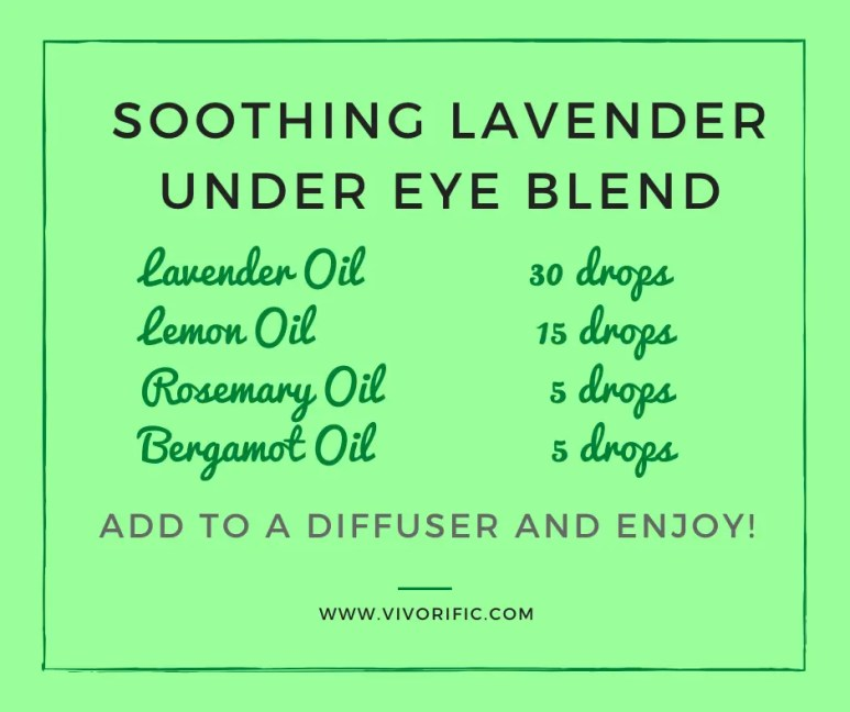Soothing Lavender Under Eye Blend-Vivorific Health
