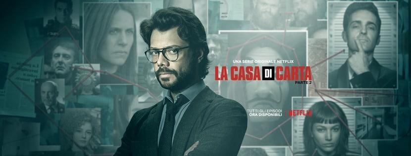La Casa Di Carta Su Netflix Dal 19 Luglio Vivo Umbria
