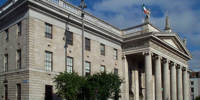 General Post Office De Dublin Poste Centrale De Dublin Visite