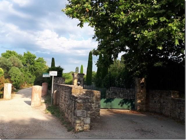 Parcours running Fontmerle 1- Chemin Etang Fontmerle