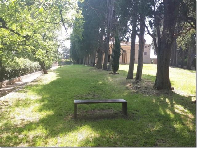 Parcours running Fontmerle 9- Banc Notre Dame de vie