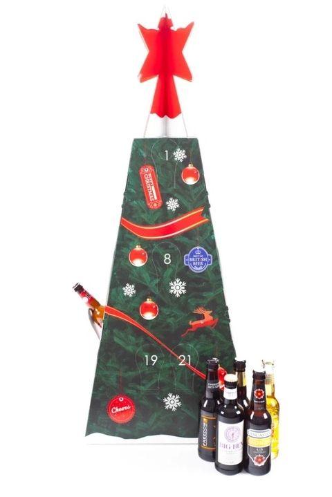 Christmas Tree Beer Advent