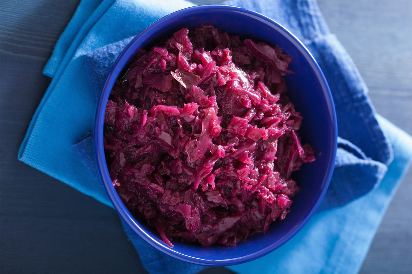 Freezer Friendly: Tangy Orange and Port Red Cabbage