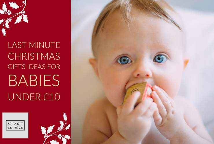Last Minute Christmas Gifts Ideas for Babies Under £10