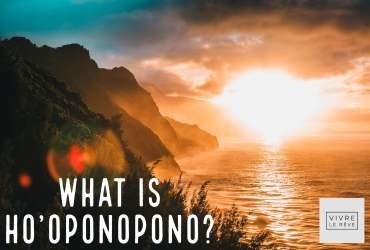 What is Ho'oponopono?